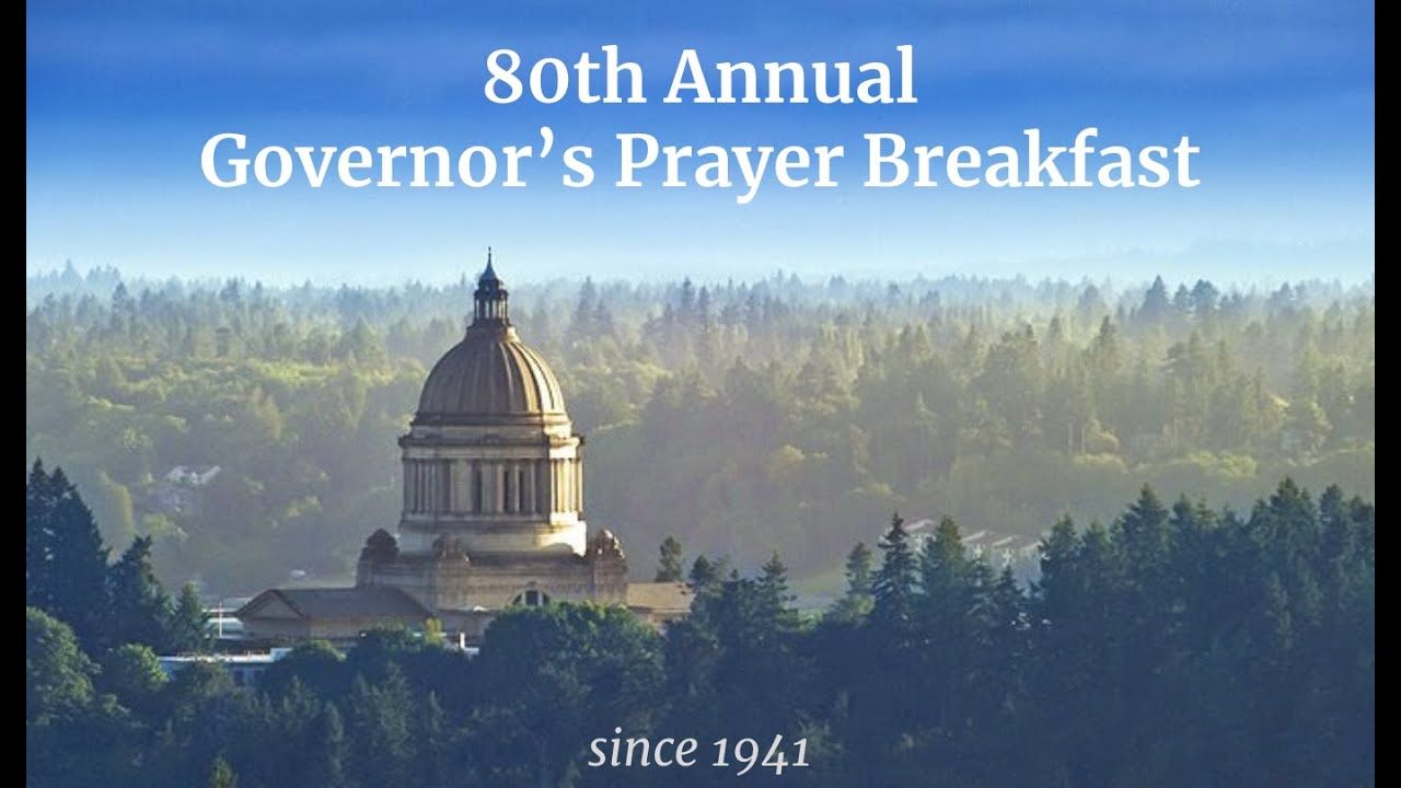 80th Annual Governor's Prayer Breakfast 2021