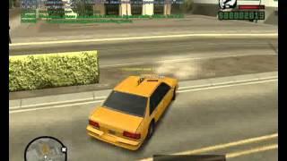 Видео урок по работе таксиста на samp rp