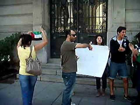En charla pro israelí Boycot académico funa a Universidad Católica