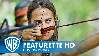 TOMB RAIDER - Featurette Deutsch HD German (2018)
