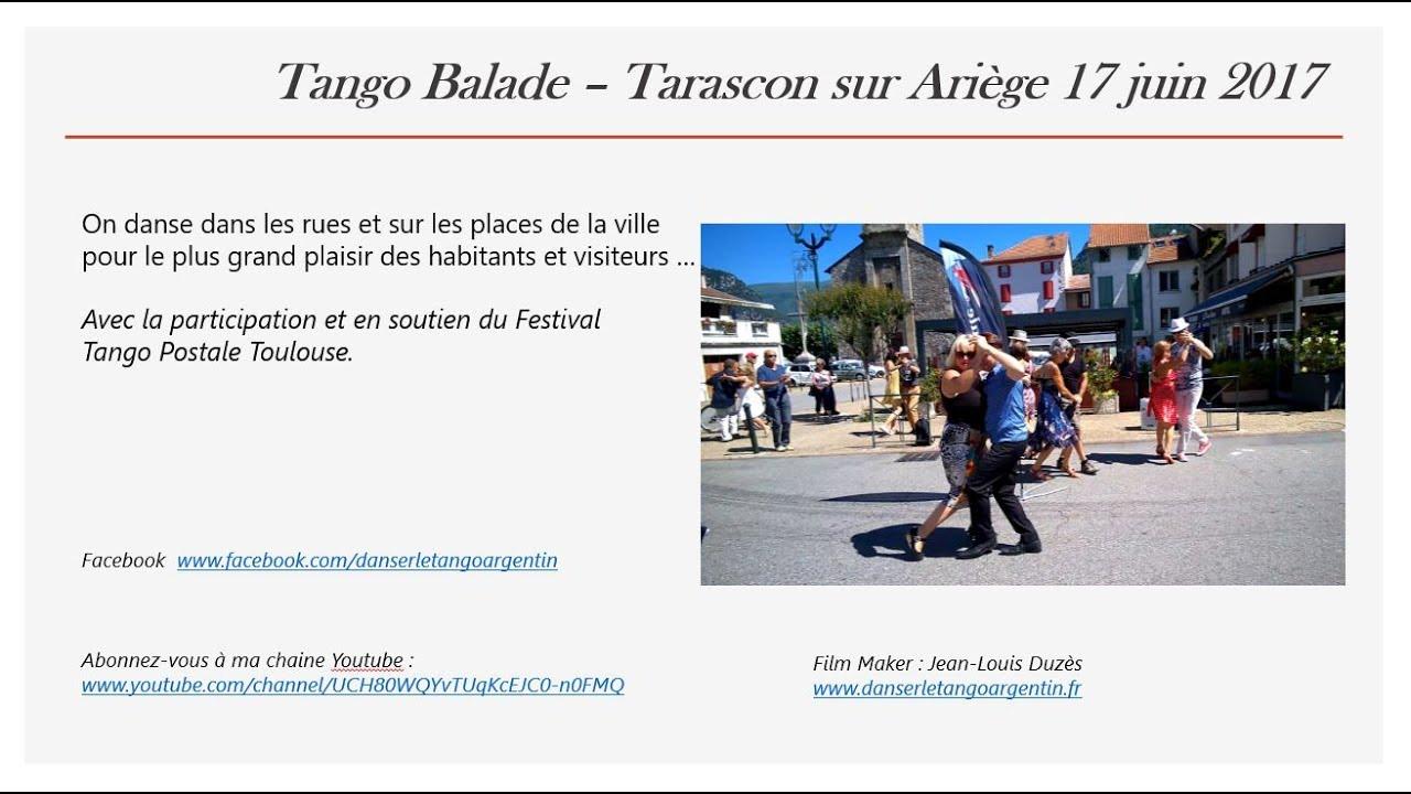 Tango balade tarascon sur ari ge 17 juin 2017 youtube - Office du tourisme de tarascon sur ariege ...