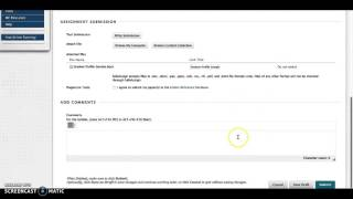 How to submit assignments in Blackboard thumbnail