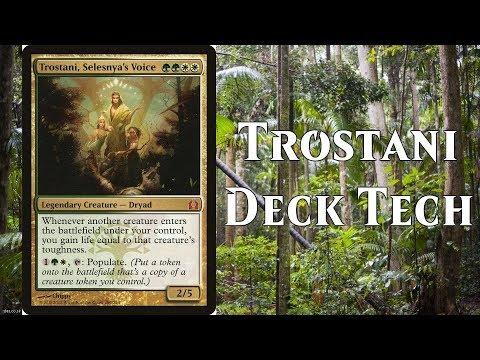 MTG Commander/EDH Trostani, Selesnya's Voice Deck Tech