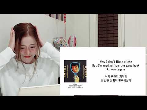 Honne 혼네 Ft BTS RM & Beka - Crying Over You Reaction 리액션