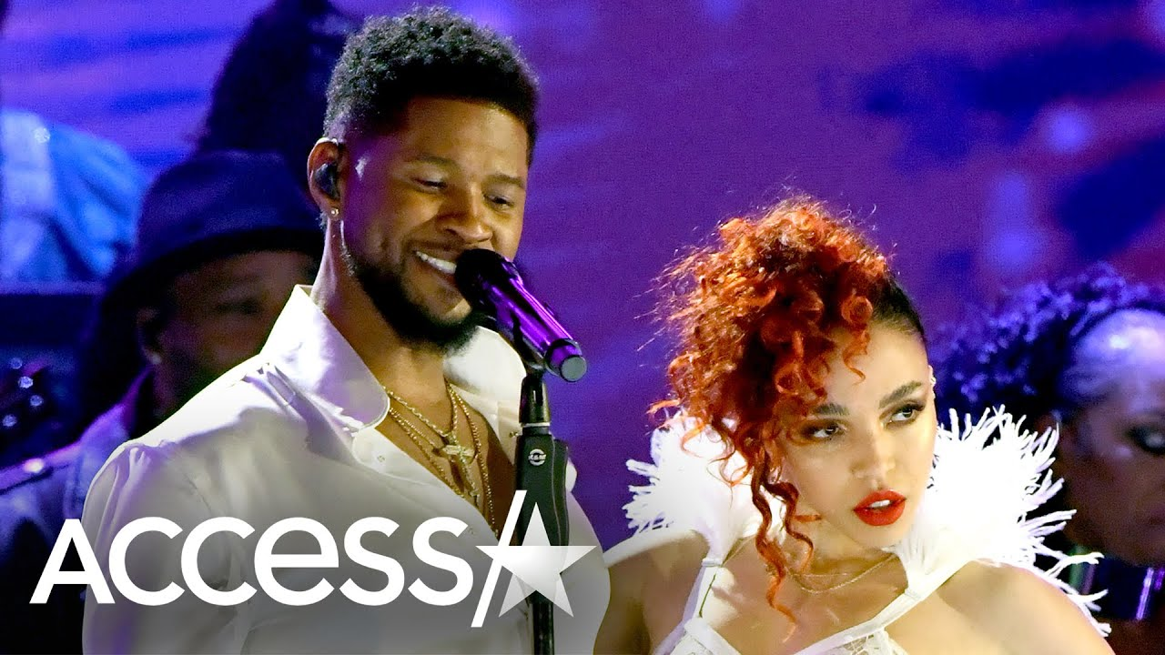Usher Embodies Prince For Spot-On Tribute Performance With FKA Twigs At 2020 Grammy Awards
