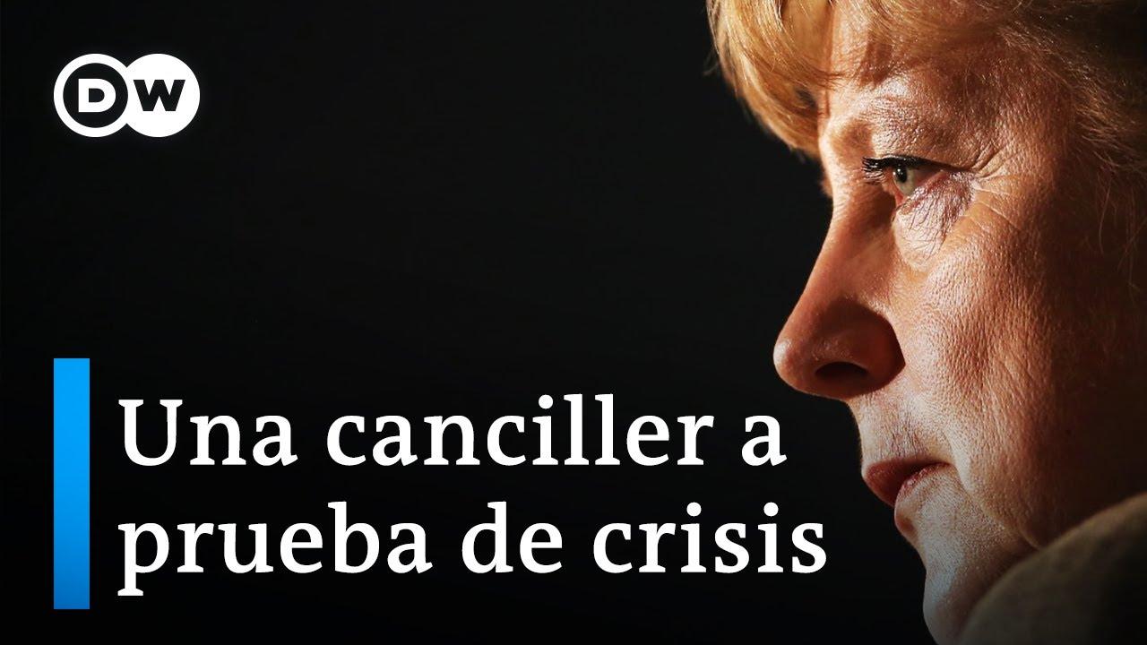 Angela Merkel una canciller a prueba de crisis  DW Documental