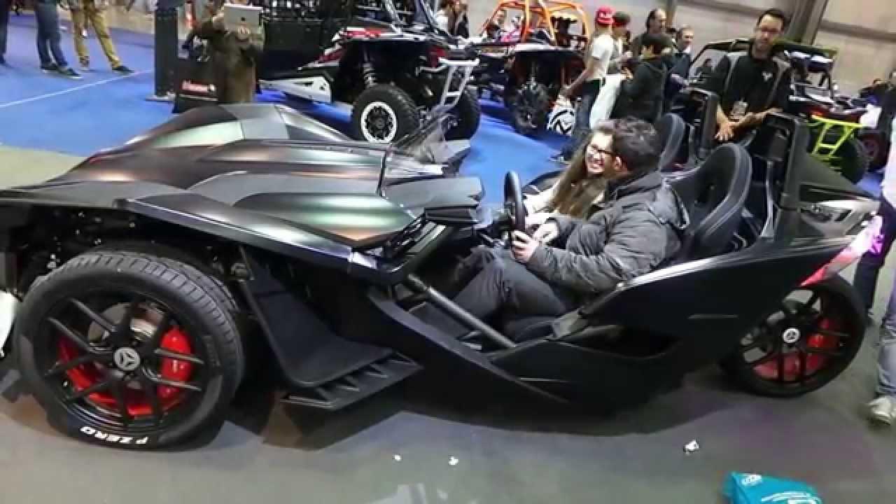 Polaris Slingshot 3-Wheel Motorcycle - Reverse Trike - YouTube