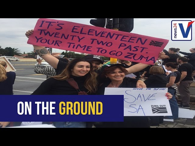 YOUR VIDEOS: Nationwide protests as SA calls for Zuma to step down