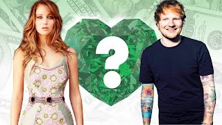 WHO'S RICHER? - Jennifer Lawrence or Ed Sheeran? - Net Worth Revealed!