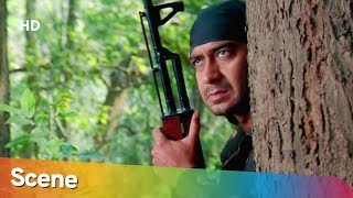 Ajay Devgan Kills terrorist - Tango Charlie - Bobby Deol - Superhit Hindi Action Movie
