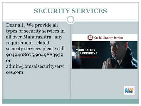 Residential Security in Pune - Om Sai Security Services