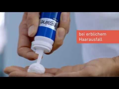 REGAINE® MÄNNER Schaum gegen erblich bedingten Haarausfall von YouTube · Dauer:  25 Sekunden