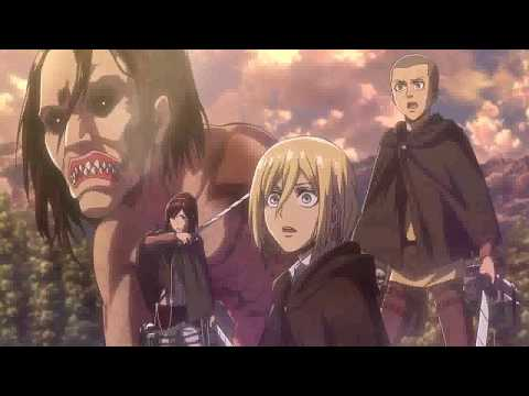 Attack on Titan Season 2 - Eren Controls Titan HD (Sub Indo)