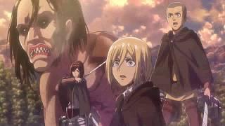 Attack on Titan Season 2 - Eren Controls Titan HD (Sub Indo)