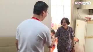 Kevin Yeung visits Yau Tsim Mong (25.7.2017)