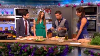 Melanie C and Matt Cardle on Lets Do Christmas With Gino And Mel.