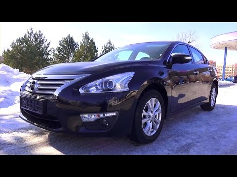 2015 Nissan Teana. Luxury 2.5 CVT. Start Up, Engine, and In Depth Tour.