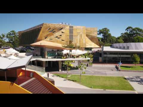 Take flight over ECU's Joondalup Campus