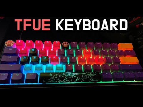 TFUES 2019 NEW KEYBOARD EXPLAINED Keycaps Spacebar and MORE