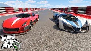 GTA 5 | TEST DE VELOCIDAD COIL CYCLONE VS X80 PROTO!! | XxStratusxX