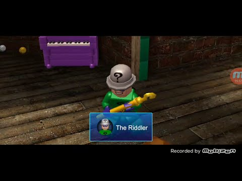 Lego Batman DC Super Heroes Walkthrough Part 2 RIDDLER IOS