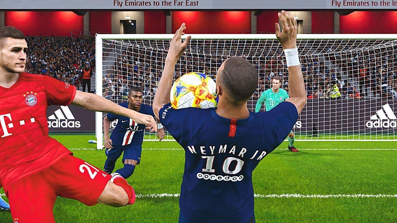 PES 2020 - PSG Vs. Bayern Munich UEFA Champions League ...