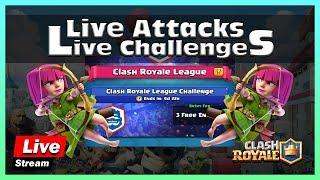 🔴 Live   20 WIN CHALLENGE   INDIA   CLASH ROYALE