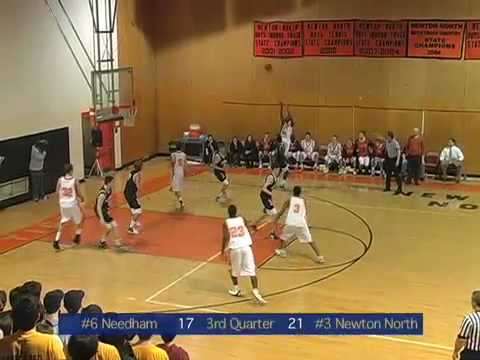 Needham vs Newton North Boys Basketball