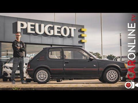 COMPREI um PEUGEOT 205 GTI!