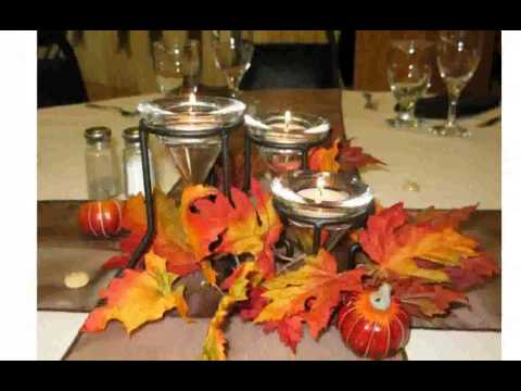 Fall Table Decorations Ideas
