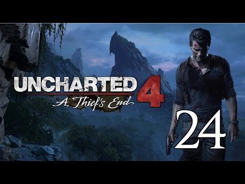 Uncharted 4 A Thief's End - Crushing Let's Play Part 24: New Devon