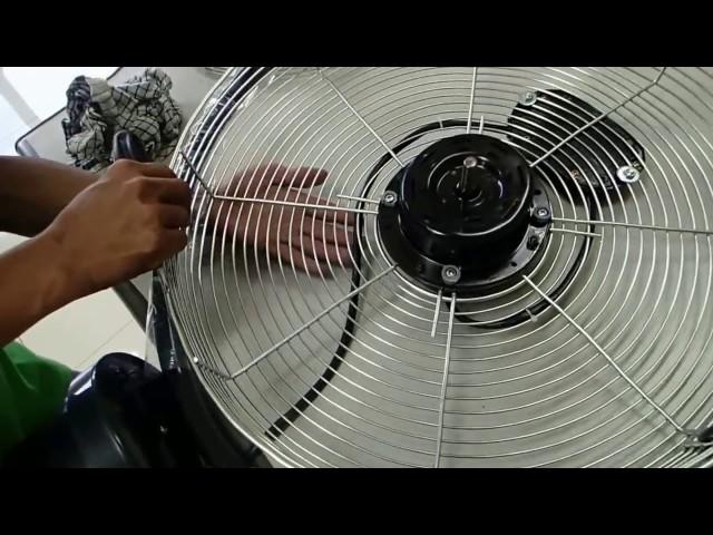 Cara Membuka dan membersihkan kipas angin Regency Tornado Fan