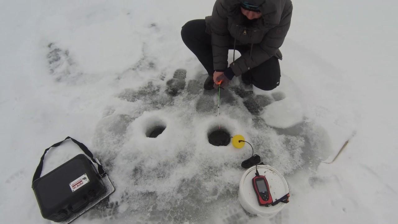 Зимняя рыбалка 2020, подводная камера Язь-52, подводная съемка на сокурских прудах Саратова