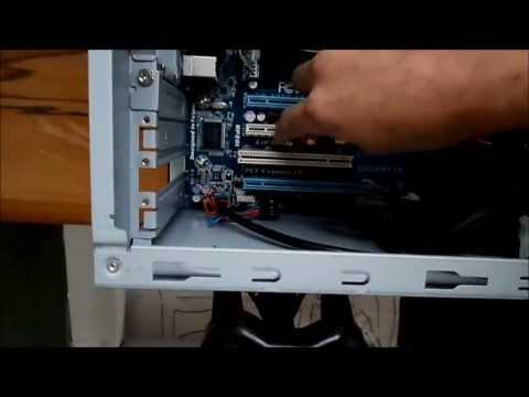 How To Install a PCI-e Expansion Card in a Desktop Computer