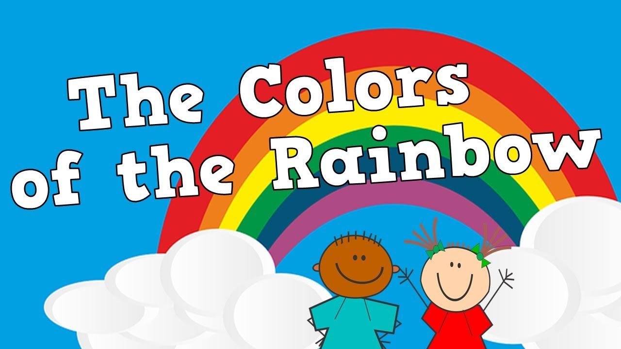 английские песни для детей про радугу