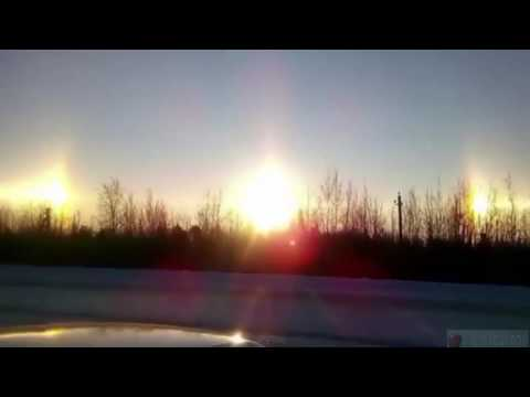 Russians Baffled As Three Suns Appear In Sky All At Once