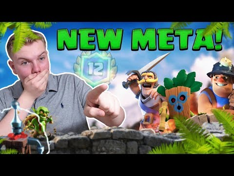 NEW META 12 WIN DECK! Dart Goblin 2.9 Miner Cycle Deck LIVE Grand Challenge Gameplay