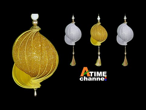 Easy diwali decoration ideas l diwali hanging decorations l Diwali home decoration l diwali craft