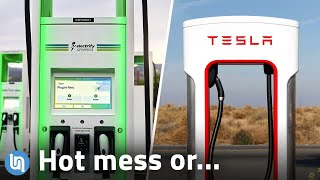Tesla Supercharger Vs. the Competition - Getting Better?