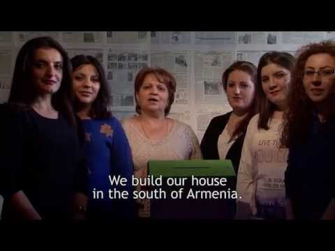 Goris Press Club: We build our house in the south of Armenia