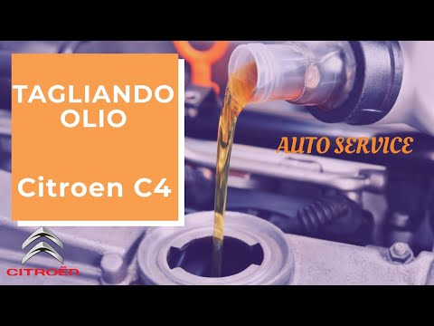 How to make the engine oil and filter cutting - Citroen C4, C4 Picasso
