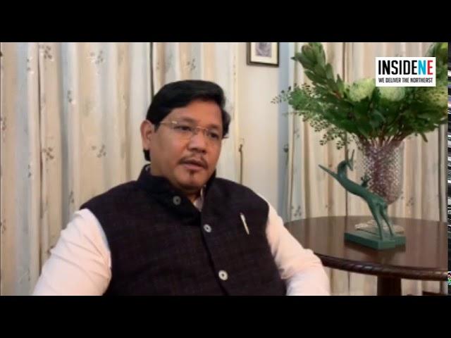 Meghalaya CM Conrad Sangma on MLA resignations in Manipur
