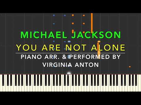 You are not alone - Michael Jackson - Piano Cover