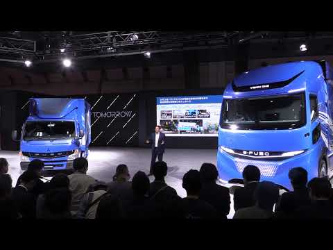 Fanastic e-FUSO Vision One Truck at Tokyo Motor Show 2017