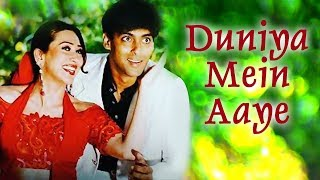 Baixar Duniya Mein Aaye | Salman Khan | Rambha | Judwaa Songs | Kumar Sanu | Kavita Krishnamurthy
