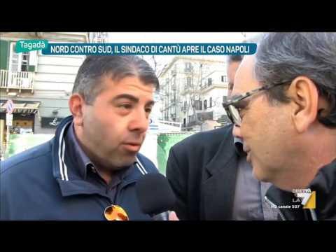 Nord contro Sud, il Sindaco di Cantù apre il caso a Napoli