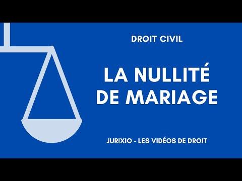 La Nullité Du Mariage (2) - Les Effets