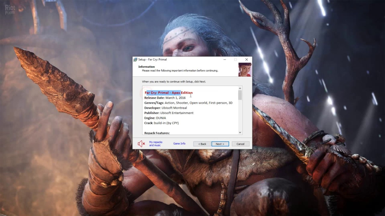 How To Download And Install Far Cry Primal Apex Edition Repack Youtube