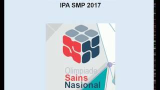 Pembahasan Soal OSK IPA SMP 2017
