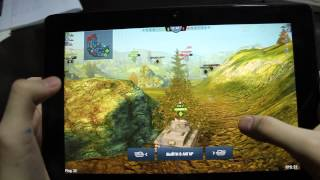 Lenovo Tab A10-70 (A7600) - World of Tanks Blitz (Ультра графика)